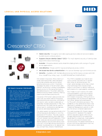 Crescendo C1150 Smart Card Datasheet