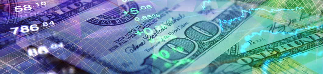 colorful money graphic