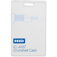 206x iCLASS Tag with Adhesive Back Smart Card
