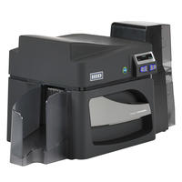 Angled photo of HID® FARGO® DTC4500e High Capacity Plastic Card Printer & Encoder